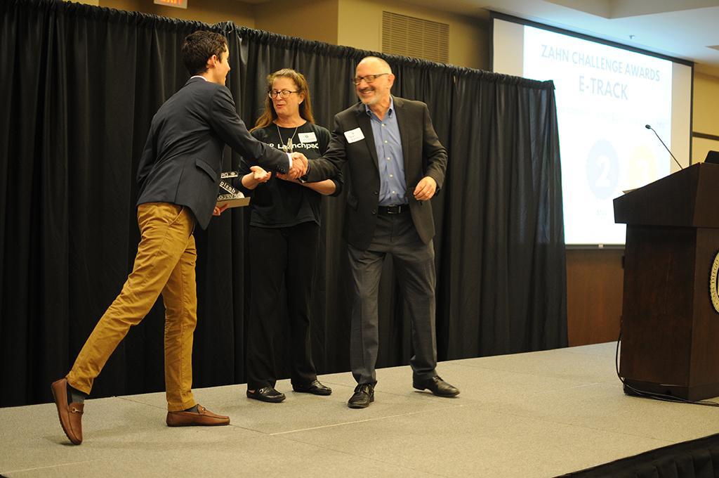 Well Ware receiving their award